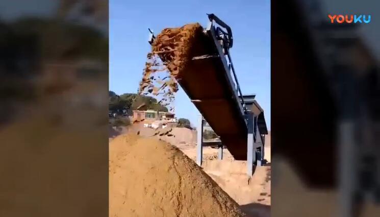 最新筛沙机视频